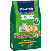 Vitakraft Emotion Complete All Ages Корм гранулированный для хомяков