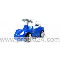 Машина для катания СПОРТ КАР синяя