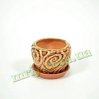 Горшок керамический для цветов Альфа №4