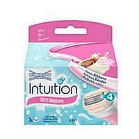 Wilkinson Sword Intuition Ultra Moisture сменные картриджи 3 шт в упаковке