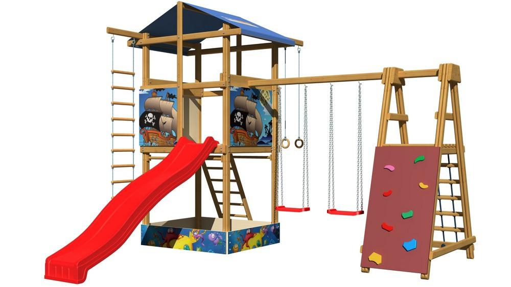 Игровой комплекс для улицы SportBaby-9