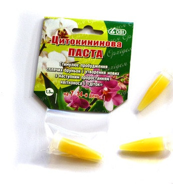"""Цитокининовая паста (стимулятор роста) для орхидей 1,5 мл """"ОВИ"""""""