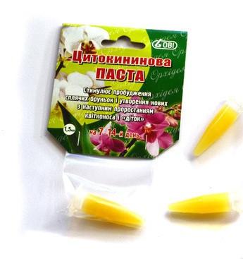 Паста цитокининовая для орхидей цена