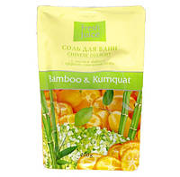 Соль для ванны дой-пак FJ Bambo & Kumguat 200 мл