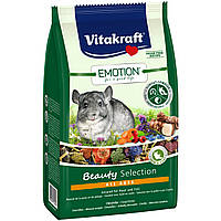 Vitakraft Emotion Beauty Selection All Ages Корм для шиншилл всех возрастов