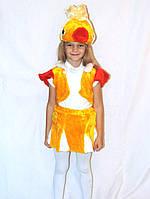 Костюм карнавальный Золотая рыбка
