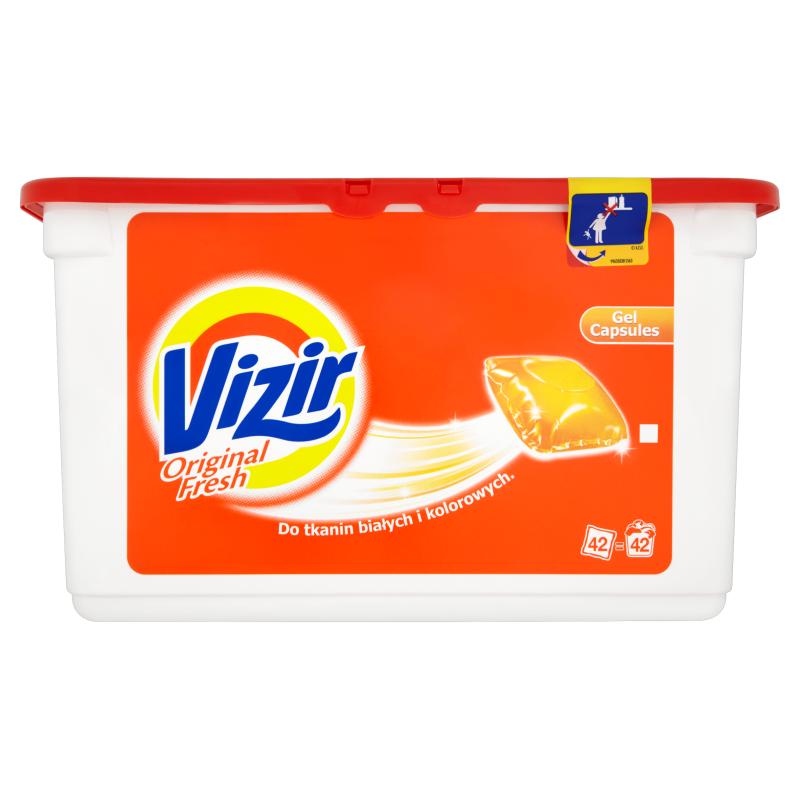 Капсулы для стирки TM Vizir 32 шт. Польша