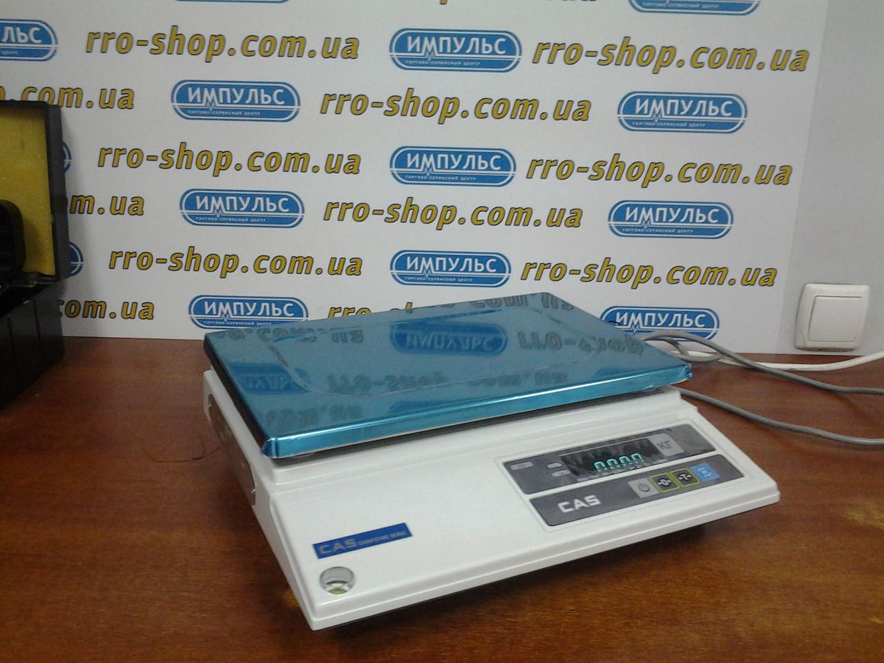 Весы фасовочные CAS AD/AD-H (5 кг, 10 кг, 25 кг, 30 кг)