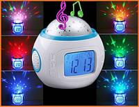 Музыкальный будильник проектор звездного неба