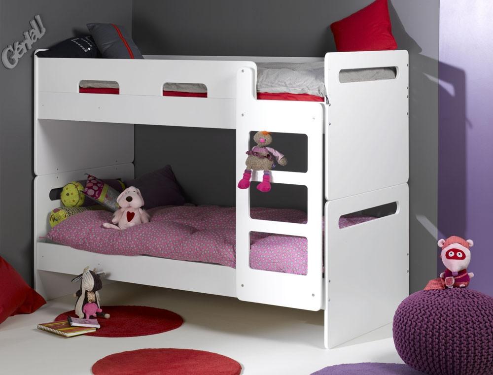 Двухъярусная кровать  для подростков   Junior ProvenceLit Superpose Feroe Blanc