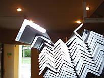 Алюминиевый уголок 40х20х2,0, 45х45х2,0, 50х50х2,0 АД31 Т5 порезка доставка купить цена