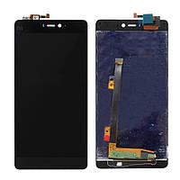 Дисплей Xiaomi Mi4i с сенсорным экраном (черный) Оригинал