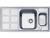 Мойка кухонная Teka Cuadro 60 B (30000766)