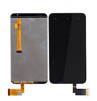 Дисплей HTC T328d (Desire VC) с сенсорным экраном (черный)