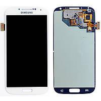 Дисплей Samsung i9500 (Galaxy S4) с сенсорным экраном и рамкой (белая)