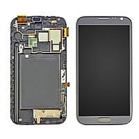 Дисплей Samsung N7100/ (Note 2) с сенсорным экраном (черный) Оригинал