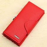Красный  кошелек женский, фото 2