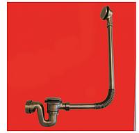 Сифон для ванн McAlpine BRASSTRAP-50-AB бронза