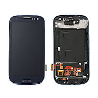 Дисплей Samsung i9300 (Galaxy S3) с сенсорным экраном (серый)