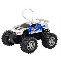 Игрушечная машинка на пульте управления 9005: аккумулятор, ЗУ, пульт ДУ, мощные колёса, 21х19 см