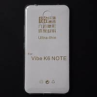 Ультратонкий 0,3 мм чехол для Lenovo K6 Note прозрачный