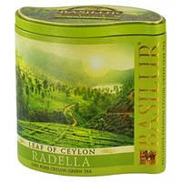 Зеленый чай Basilur Раделла ж/б 100 г коллекция Лист Цейлона