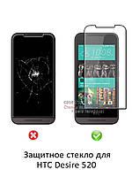 Защитное стекло для HTC Desire 520