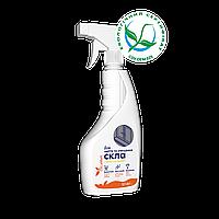Безопасное средство-спрей  для мытья стекла с ароматом лимона