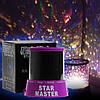 Star Master + USB шнур + адаптер Ночник проектор звездного неба Фиолетовый