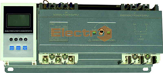 Устройство АВР с автоматическим выключателем ВА77-1-125, 2 х 3 полюса 100А Icu 25кА 380В