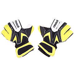 Вратарские перчатки Reusch Latex Foam Размер9 желто-черные GG-RCH-01Y