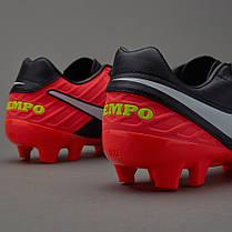 Бутсы Nike Tiempo Mystic V FG 819236-018, Найк Темпо (Оригинал), фото 3
