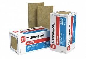 Техноакустик 50 мм 40 кг/м.куб звукоизоляционная базальтовая плита Технониколь