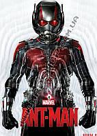 Картина 60х40 см Человек-муравей костюм