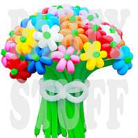 Воздушные шарики Gemar D4 конструктор 260 ассорти, 100 шт, фото 1
