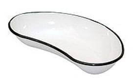 Лоток почкообразный эмалированный, 250 мм