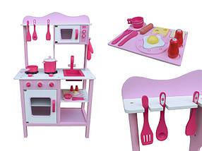 Деревянная кухня для детей Classic Pink, фото 3