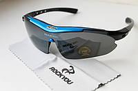 Велосипедные очки Okley blue, фото 1