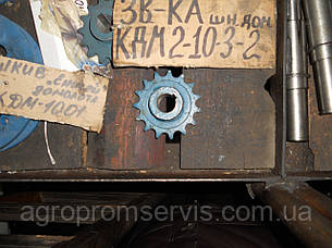 Звездочка шнека домолота Енисей КДМ 2-10-3-2 Z-15,t-19,05 вал 25мм., фото 2