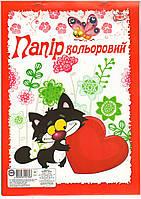 Бумага цвет. А4 9л. Украина (офс)