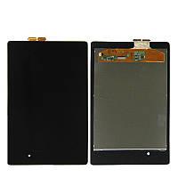 Дисплей (экран) для Asus Google Nexus 7 2013 ME571K + с сенсором (тачскрином) черный Оригинал