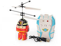 Полли Робокар, игрушка на радиоуправлении вертолет TL8018, аккумулятор, световые эффекты, 4 вида