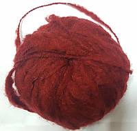 Нитки для вязания шерсть акрил пряжа Красная