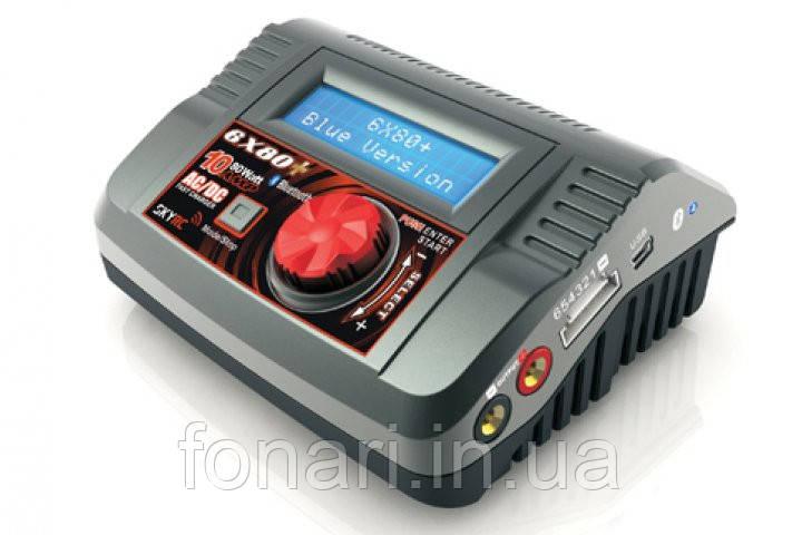 Оригинальное зарядное устройство 6x80+Blue Version от SkyRC