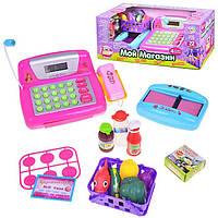 Детская игрушка касса Play Smart «Мой магазин»7017, 22 аксессуара, свет, звук, питание 3хАА, 3+