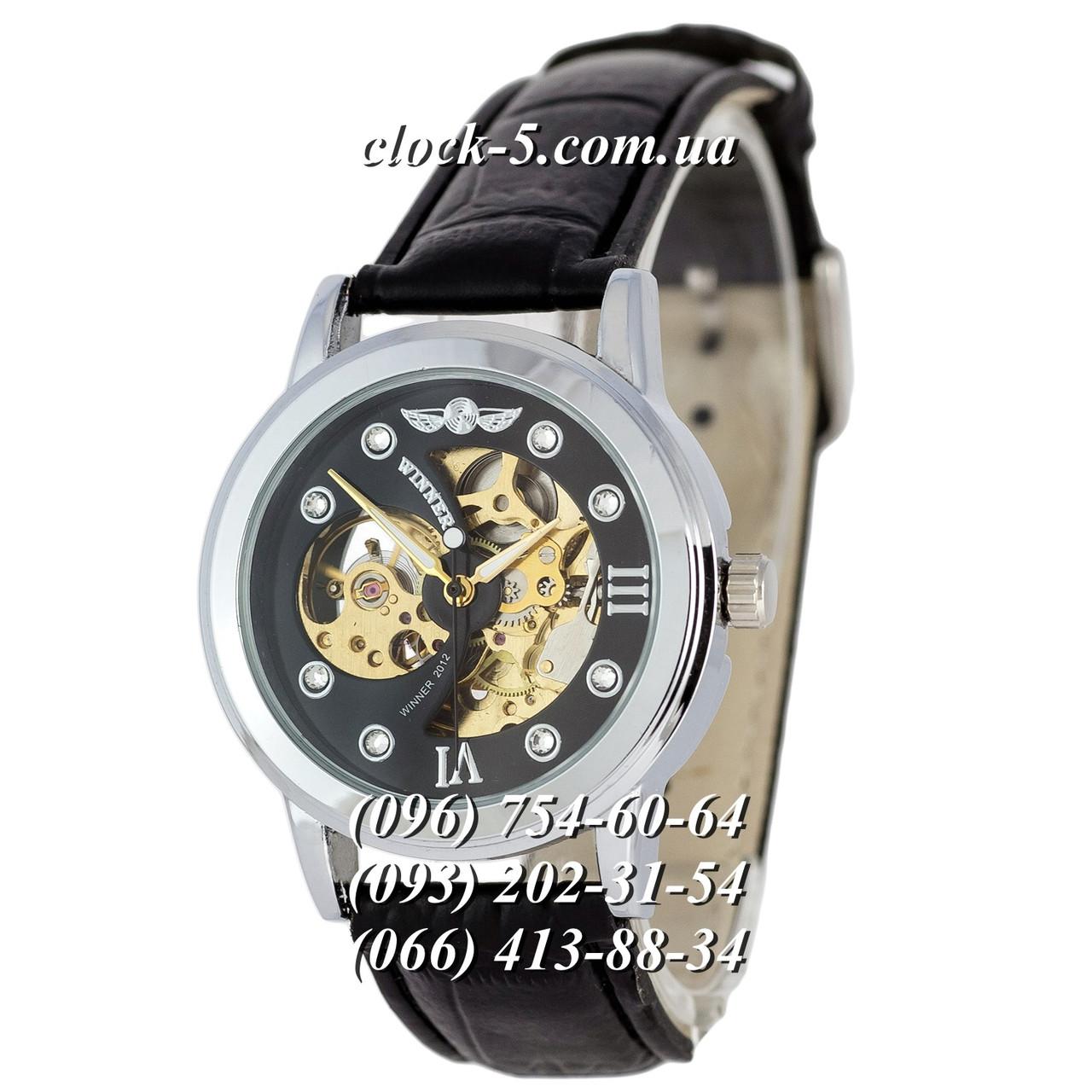4079d12de2f9 Мужские механические часы скелетон Winner Skeleton с автоподзаводом ...
