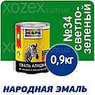 Зебра Краска-Эмаль ПФ-116 Светло-зеленая №34 50кг, фото 4