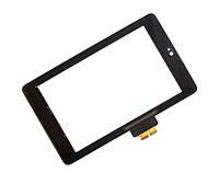 Сенсор (тачскрин) для Asus ME370 Galaxy Nexus 7 (1 поколение 2012) черный