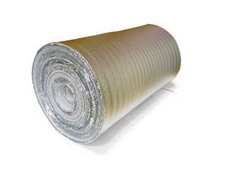 Рулонный утеплитель с фольгой 2 мм