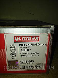 Поршни YENMAK 4343050 AUDI Q3.Q5.A3.A4 2.0 TFSi 16V  CADA.CCTA.CBFA.первый ремонт диаметр 83,01